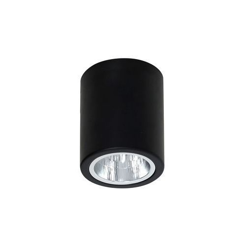 Luminex Plafon lampa sufitowa downlight round 1x60w e27 czarny 7235 >>> rabatujemy do 20% każde zamówienie!!! (5907565972351)