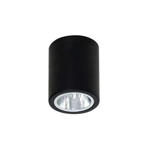 Plafon lampa sufitowa downlight round 1x60w e27 czarny 7235 >>> rabatujemy do 20% każde zamówienie!!! marki Luminex
