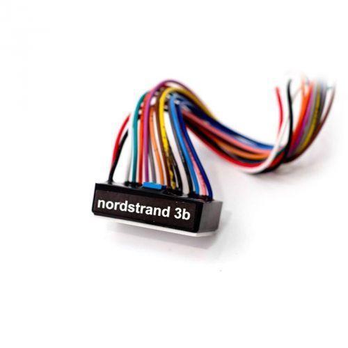 3b 4b- 3 band preamp + volume stacked + blend + mid (pull freq. switch) + treble-bass stacked przetwornik do gitary marki Nordstrand