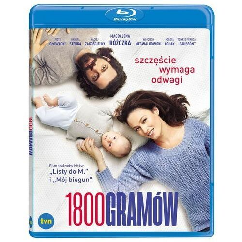 1800 gramów Blu-ray/ Kino Świat