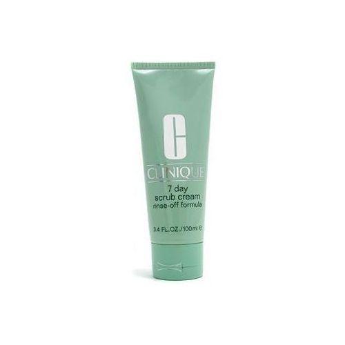 7 day scrub cream rinse-off formula- krem-peeling do twarzy 100 ml marki Clinique