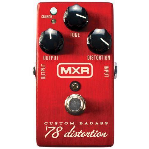 Dunlop mxr m78 custom badass '78 distortion