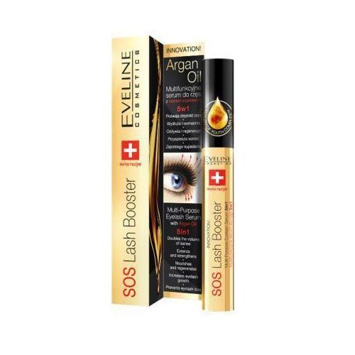 Eveline cosmetics Eveline 10ml sos lash booster 5w1 multifunkcyjne serum do rzęs