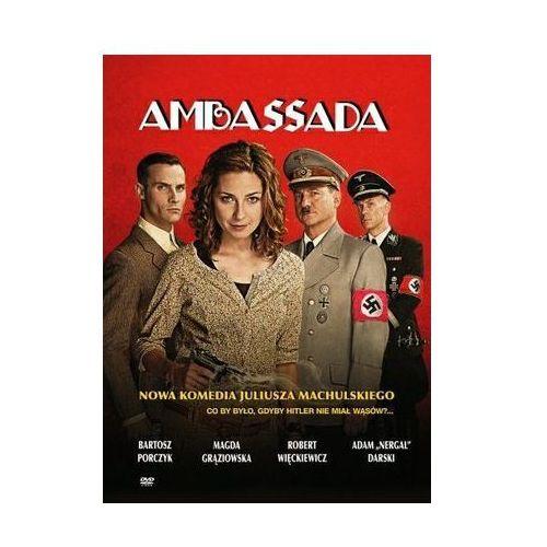 Ambassada dvd + zakładka do książki gratis marki Agora