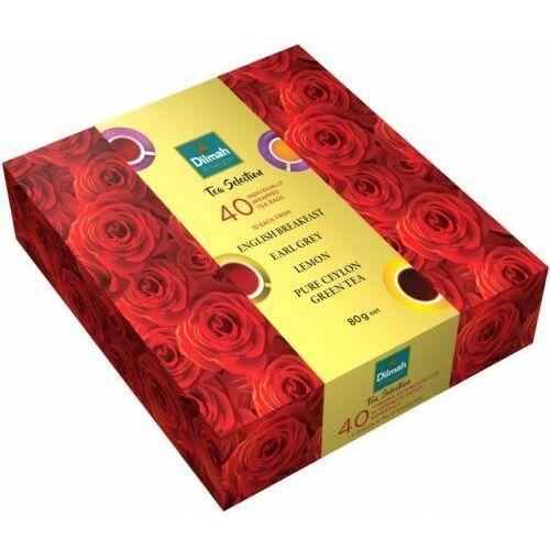 Dilmah Herbata tea selection roses 40 80g