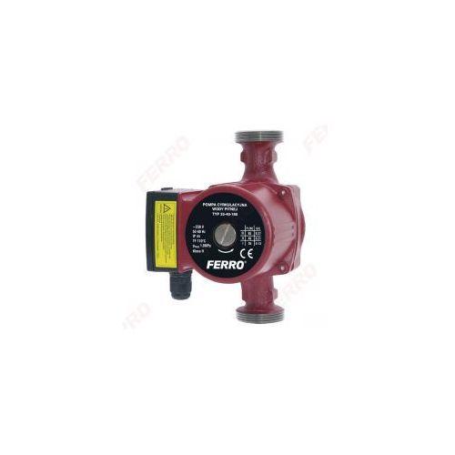 Ferro weberman pompa cyrkulacyjna do wody pitnej obiegowa centralnego ogrzewania 25-40-180 0201w