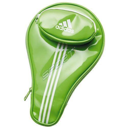 Adidas Pokrowiec na rakietę do tenisa stołowego single bag lime 10828 - lime