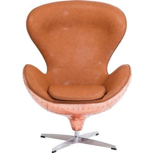 Big Boss Copper Fotel Brązowy, Aluminium Włókno Szklane Skóra Ekologiczna - 78819, marki Kare Design do zakupu w sfmeble.pl