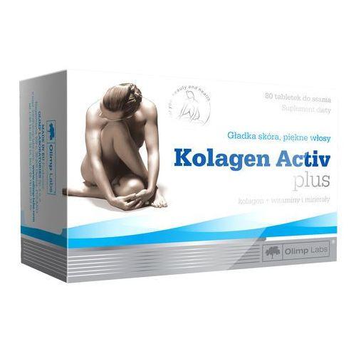 Olimp KOLAGEN Activ Plus 80 tabletek do ssania - sprawdź w wybranym sklepie