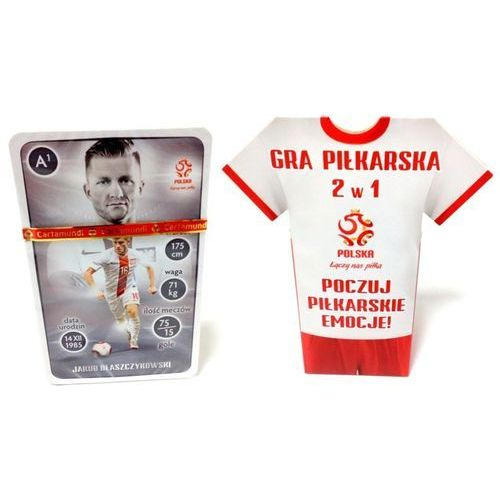 Gra Piłkarska 2w1 PZPN (Koszulka) Cartamundi (5901911002747)