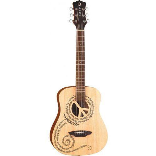 safari peace gitara akustyczna 3/4 marki Luna