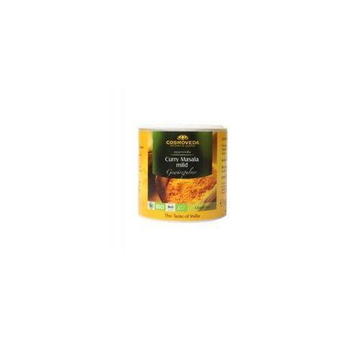Ajuwerdyjska łagodna przyprawa Curry Masala ORGANICZNA 80g Cosmoveda (4032108123776)