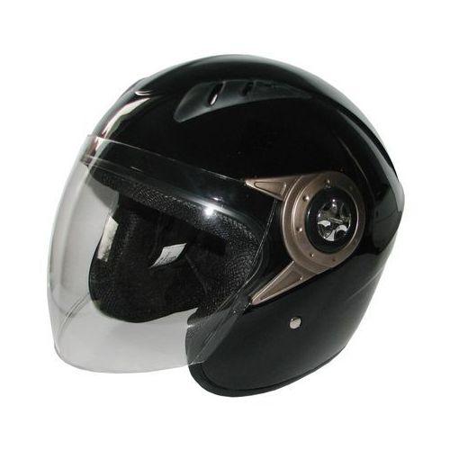 Kask motocyklowy TORQ o8 Otwarty Czarny połysk + DARMOWY TRANSPORT!