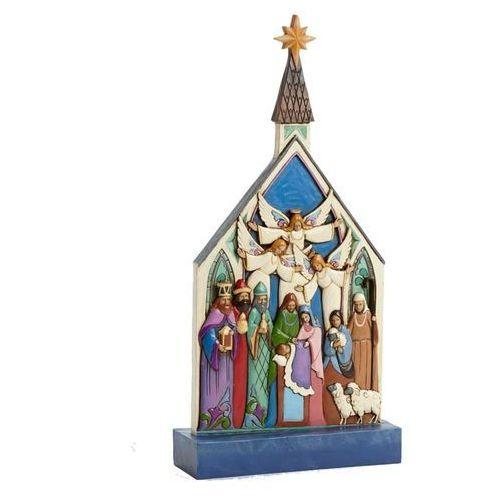 Szopka, św, rodzina (for unto us a child is born), 4041925 figurka ozdoba świąteczna marki Jim shore