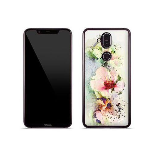 Nokia 8.1 - etui na telefon Fantastic Case - róże herbaciane