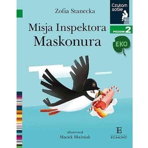 Czytam sobie Eko. Misja inspektora... w.2020 - Zofia Stanecka - książka