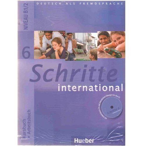 Schritte international 6 Kursbuch + Arbeitsbuch Zeszyt maturalny XXL, Hueber Verlag