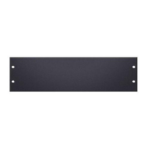 Adam hall parts 8723 - panel z otworami do szafy rack, 19″, 3u, aluminium