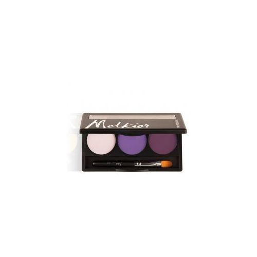 paleta matowych cieni do powiek, royal purples marki Melkior