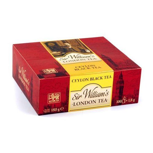 Sir Williams London, Herbata Ceylon Black Tea, saszetki 100 szt.