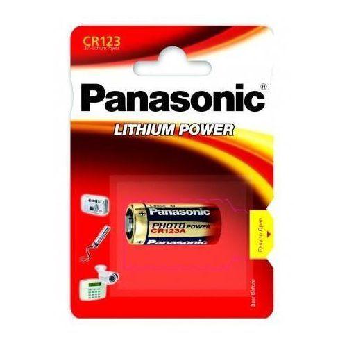 Bateria litowa cr123a 1 szt. marki Panasonic