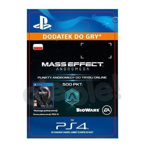 Mass Effect Andromeda 500 PKT [kod aktywacyjny] (0000006200249)