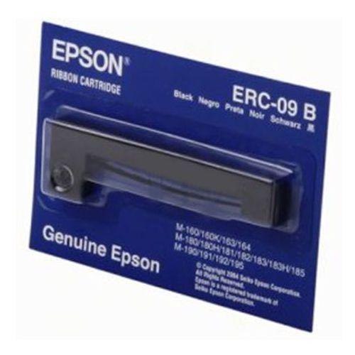 Taśma erc-09 b czarna do drukarek igłowych (oryginalna) marki Epson