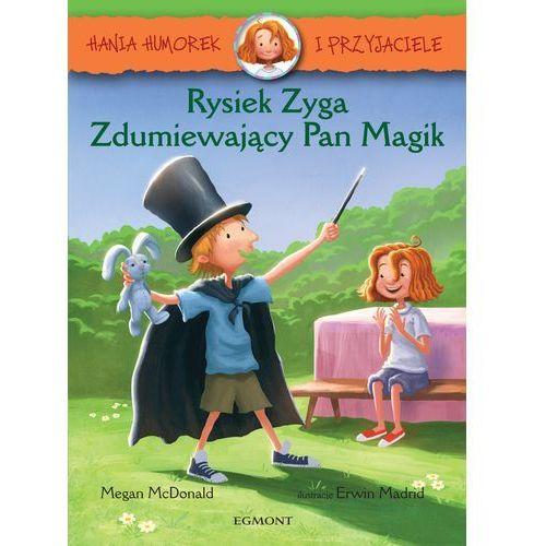 Rysiek Zyga, zdumiewający Pan Magik. Hania Humorek i przyjaciele - Megan Mcdonald, Megan McDonald