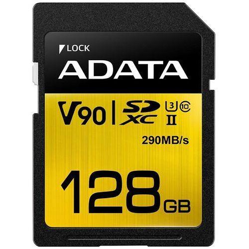 Adata SD Premier ONE 128G UHS 2/U3/CL10 290/260MB/s