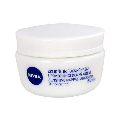 Nivea Face łagodzący krem na dzień dla cery wrażliwej (Soothing Day Cream) 50 ml (9005800226835)