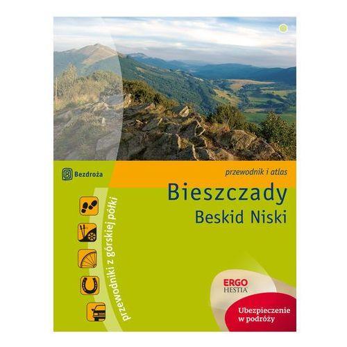 Bieszczady Beskid Niski Przewodnik z górskiej półki - Natalia Figiel, Paweł Klimek (304 str.)