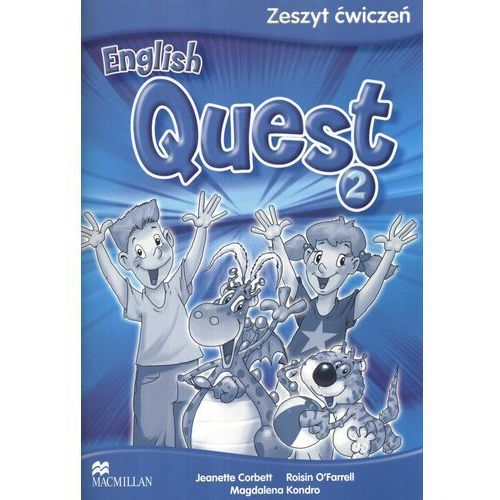 English Quest 2. Język angielski. Szkoła podstawowa. Zeszyt ćwiczeń, oprawa miękka