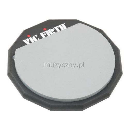 pad6d 6″ pad do ćwiczeń (2-stronny) marki Vic firth