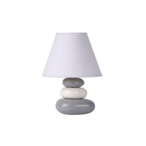 Lucide karla lampa stołowa siwy, 1-punktowy - nowoczesny - obszar wewnętrzny - karla - czas dostawy: od 4-8 dni roboczych