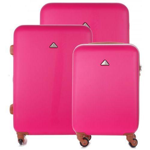 f0f4354ef29db Snowball Elegancki i solidny zestaw walizek 3w1 firmy różowy (kolory)  599,00 zł Ten designerski zestaw walizek cenionej producenta Snowball  spełni ...