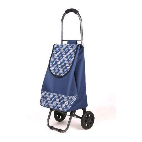 Wózek na zakupy S 03 granatowy (wózek na zakupy)