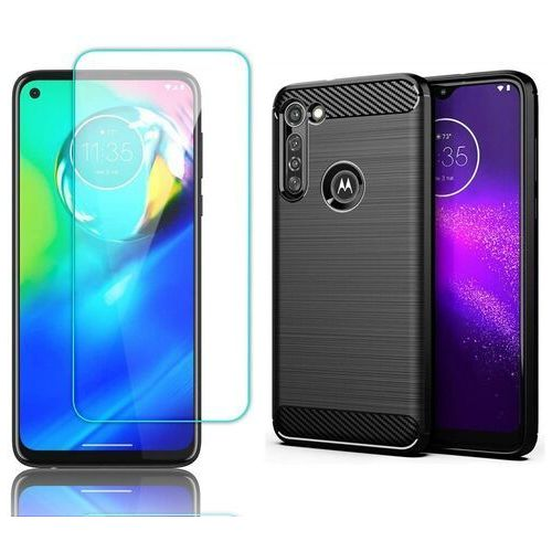 Etui pancerne + szkło do motorola moto g8 power marki Braders