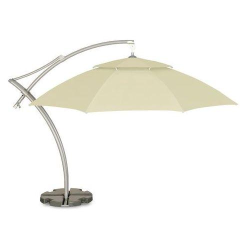 Home&garden Parasol ogrodowy ibiza 420 cm beżowy