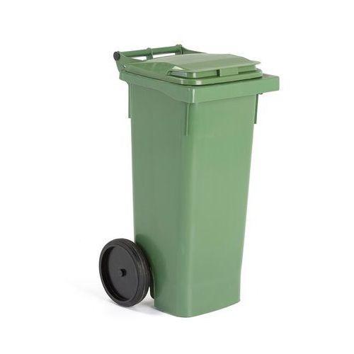 Array Zielony kontener na odpadki o poj.80 l - 446x530x965mm