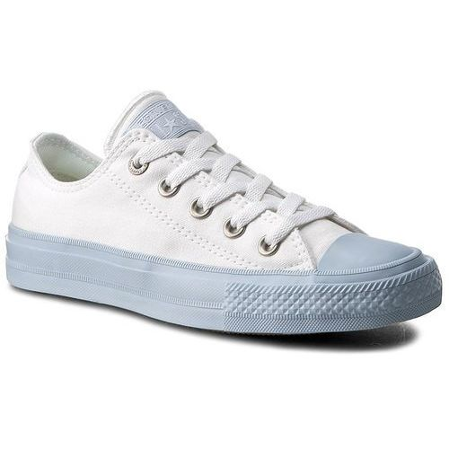 Trampki CONVERSE - Ctas II Ox 155727C White/Porpoise/Porpoise, kolor biały