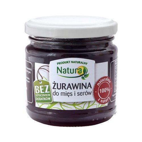 220g żurawina do mięs i serów marki Natura