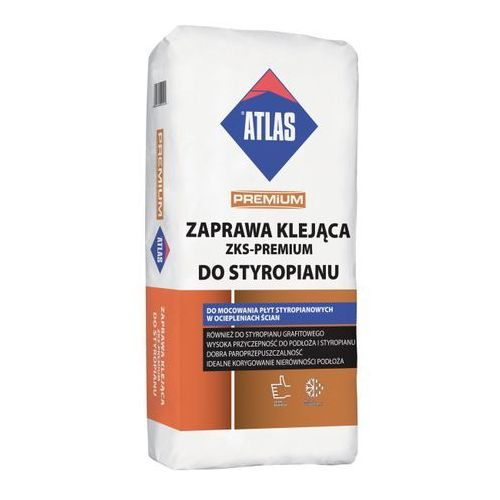 Klej do styropianu premium 25 kg marki Atlas