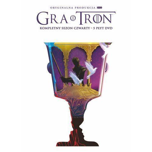 GRA O TRON, SEZON 4 (5 DVD) EDYCJA LIMITOWANA (Płyta DVD)
