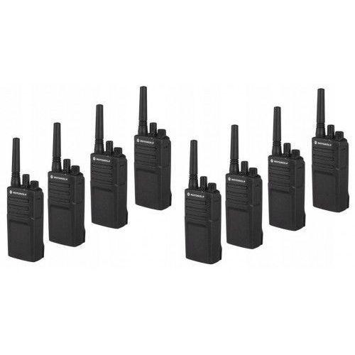 Motorola 8 x radiotelefon krótkofalówka pmr xt420