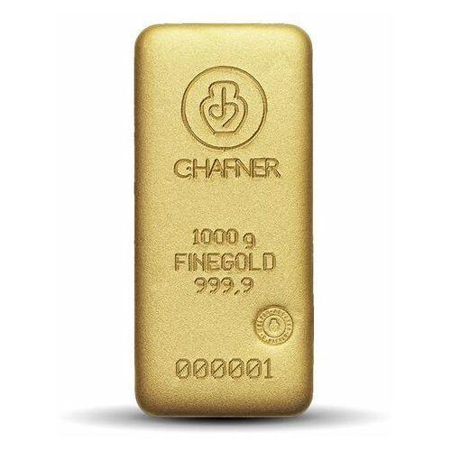 1000 g (1 kg) sztabka złota - 15 dni marki Argor-heraeus, pamp