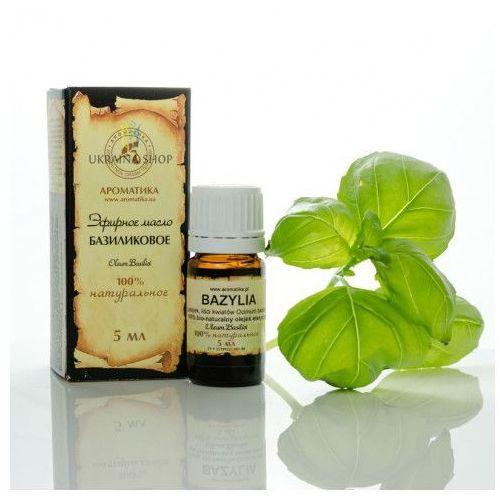 Olejek Bazyliowy (Bazylia), 5 ml, 100% Naturalny, Aromatika, 2492557