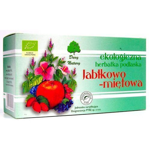JABŁKOWO - MIĘTOWA EKO - herbata ekspresowa - Dary Natury, E9D2-12906