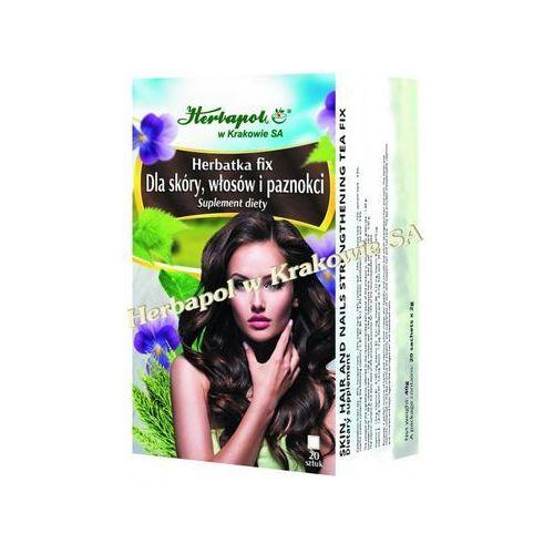 Herbapol Herbatka fix dla skóry, włosów i paznokci