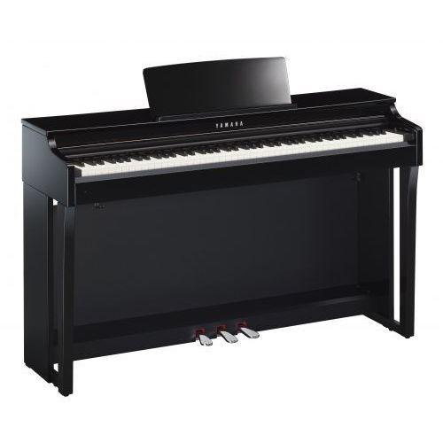 Yamaha clp 625 pe clavinova pianino cyfrowe (kolor: polished ebony / czarny połysk)