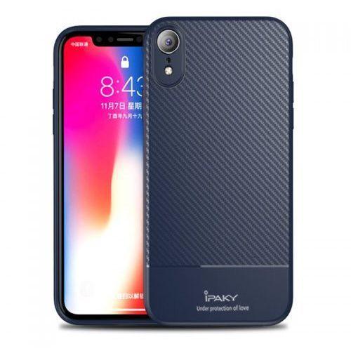 Ipaky Etui carbon fiber iphone xr niebieskie (7426825354723)